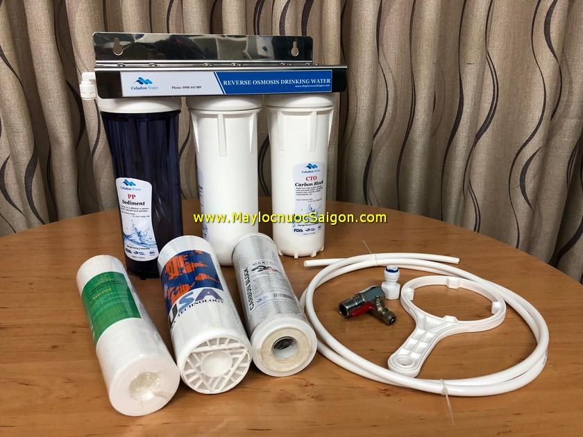 Bộ lọc nước sạch 3 cấp