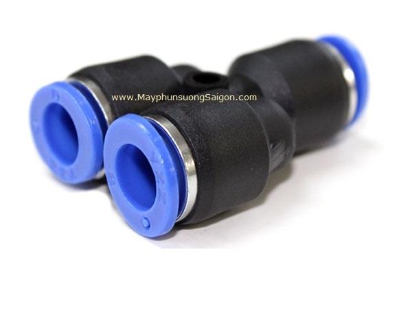 Nối ống chữ Y ống 8mm